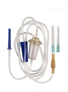 Система для вливания кровезаменителей и инфузионных растворов Brise Plus (ПР) с метал. иглой 21G, 1 штука