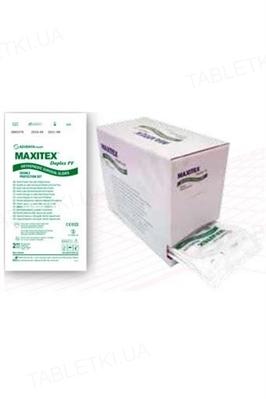 Перчатки хирургические Maxitex Duplex PF латексные без пудры, размер 7,5 стерильные, пара