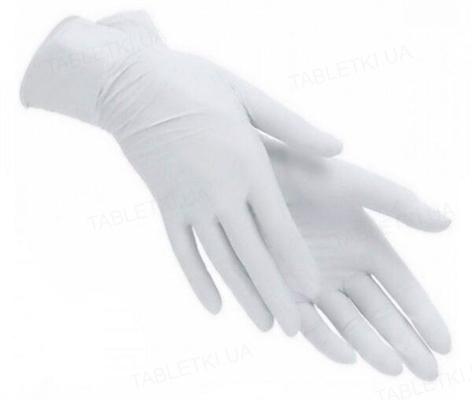 Перчатки смотровые PRIMtouch+ латексные без пудры нестерильные, размер L