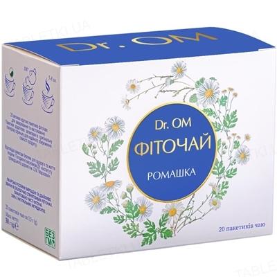 Фиточай Dr.ОМ Ромашка в круглых пакетиках №20