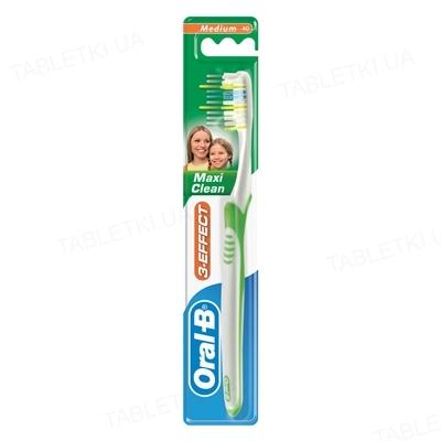 Зубная щетка Oral-B 3-Эффект Maxi Clean, 1 штука