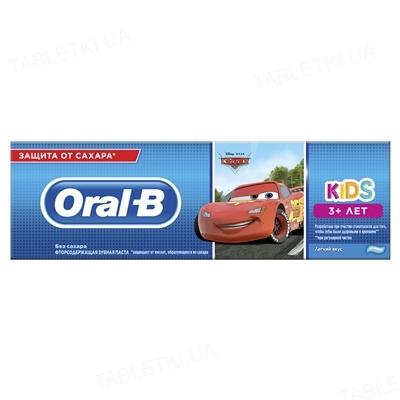 Зубная паста Oral-b Kids Тачки, Легкий вкус, 75 мл