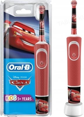 Электрическая зубная щетка Oral-B Stages, детская, Тачки
