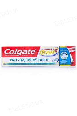 Зубная паста Colgate Total 12, Профессиональная, Видимый эффект, 75 мл