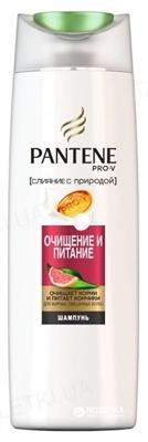 Шампунь Pantene Pro-V Злиття з природою Очищення і Живлення, 400 мл