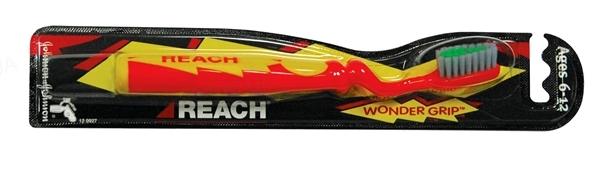 Зубная щетка Reach Wonder Grip для детей 6-12 лет, 1штука