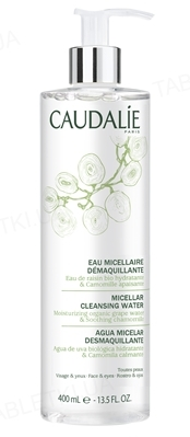Мицеллярная вода Caudalie для снятия макияжа с лица и глаз, 400 мл