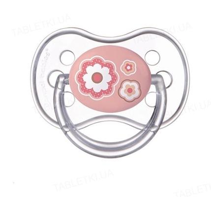 Пустышка силиконовая Canpol Babies Newborn baby симметричная 22 / 581_pin, 6-18 месяцев, 1 штука