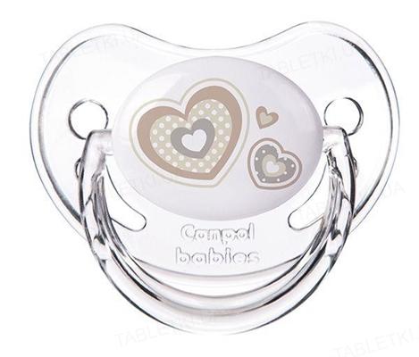 Пустышка силиконовая Canpol Babies Newborn baby анатомическая 22 / 567_bei, 18+ месяцев, 1 штука