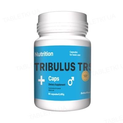 Тестостероновый бустер EntherMeal Tribulus TRS + Трибулус, 60 капсул