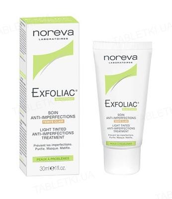 Тональный крем Noreva Exfoliac BB для лица, бежевый, матирующий, 30 мл