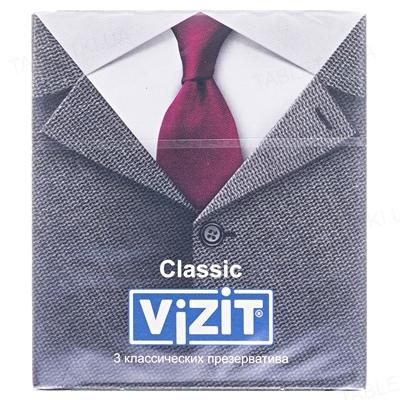 Презервативы Vizit Classic классические, 3 штуки