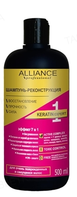Шампунь-реконструкция Alliance Professional Keratin Expert, 500 мл