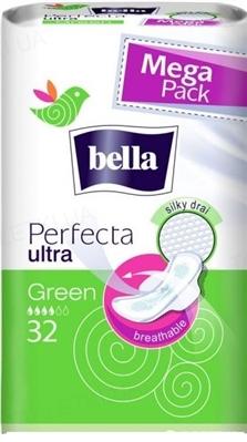 Прокладки гигиенические Bella Perfecta Ultra Green, 32 штук