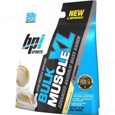 Гейнер BPI Sports Bulk Muscle Vanilla, 6.8 кг