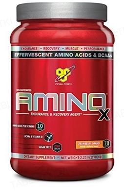 Аминокислота BSN Amino X Sawberry Orange, 1.01 кг