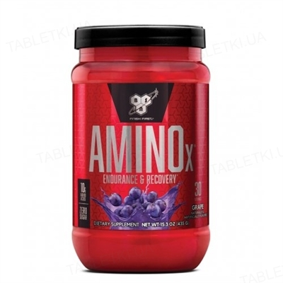 Аминокислота BSN Amino X Grape, 435 г