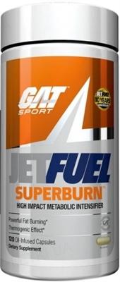 Жиросжигатель GAT JetFUEL Superburn, 120 капсул