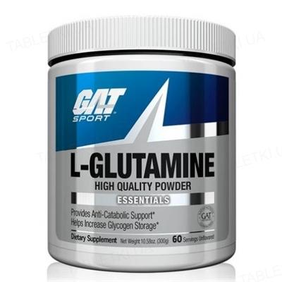 Аминокислота GAT L-Glutamine, 300 г