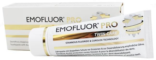 Зубная паста Dr. Wild Emofluor Pro Twin Care, 75 мл