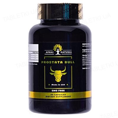 Простата Булл Apnas Natural капсулы №60