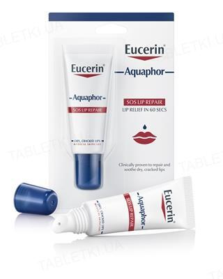 Бальзам для губ Eucerin Aquaphor&Caring Oil успокаивающий восстанавливающий, 10 мл