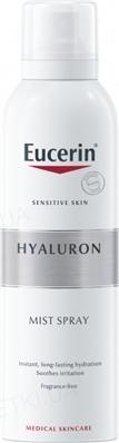 Спрей Eucerin Увлажняющий с гиалуроном для чувствительной кожи, 150 мл
