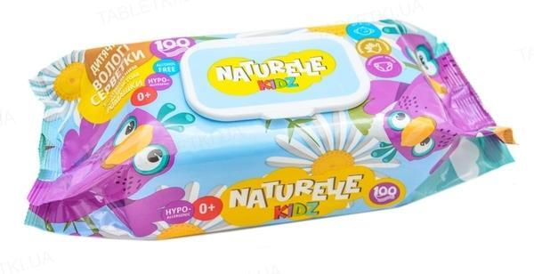 Салфетки влажные детские Naturelle ромашка, 100 штук