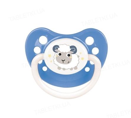 Пустышка латексная Canpol Babies Bunny & Company анатомическая 23/274, 0-6 месяцев, 1 штука
