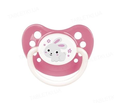 Пустышка силиконовая Canpol Babies Bunny & Company анатомическая, 23/272, 6-18 месяцев, 1 штука