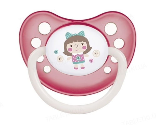 Пустышка силиконовая Canpol Babies Toys анатомическая 23/257_pin, 6-18 месяцев, 1 штука