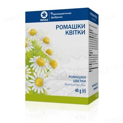 Ромашки цветы по 40 г в пач. с внут. пак.