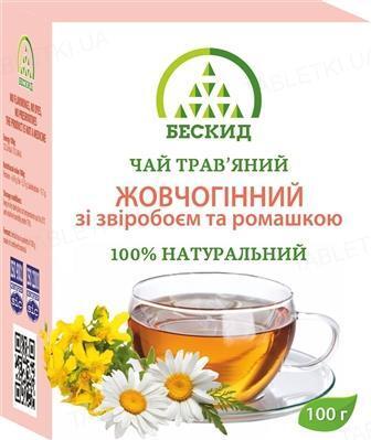 Чай травяной Бескид Желчегонный со зверобоем и ромашкой, 100 г
