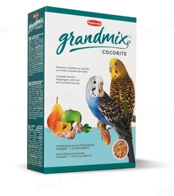 Корм для волнистых попугаев Padovan GrandMix cocorite, 1 кг