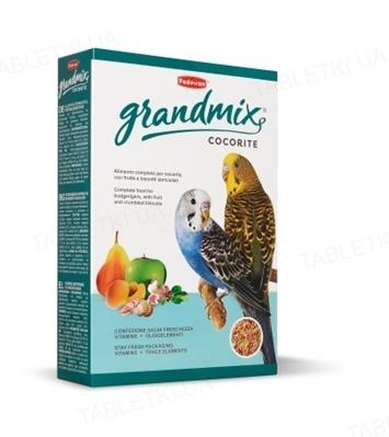 Корм для волнистых попугаев Padovan GrandMix cocorite, 400 г