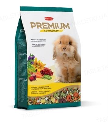 Корм для грызунов Padovan Premium coniгlietti, 2 кг