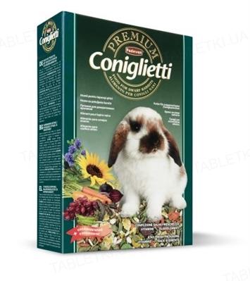 Корм для грызунов Padovan Premium coniгlietti, 500 г