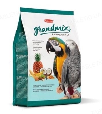 Корм для крупных попугаев Grandmix Pappagalli, 2 кг