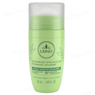 Дезодорант шариковый Laino зеленый чай, 50 мл