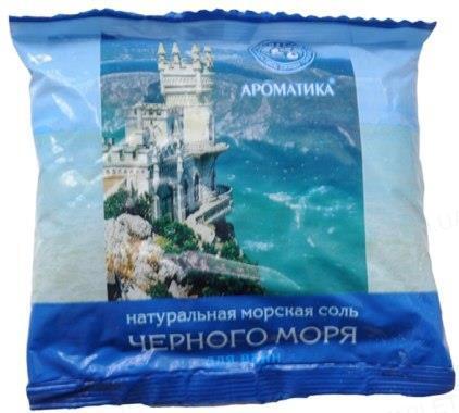 Соль для ванн Ароматика натуральная морская, 500 г