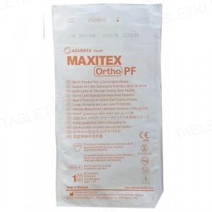 Перчатки хирургические Maxitex Ortho PF латексные без пудры, размер 7,0 стерильные, пара
