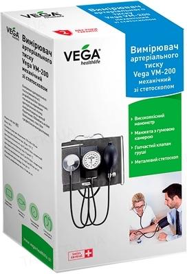 Тонометр Vega VM-200 механический со стетоскопом
