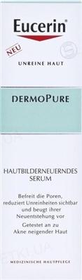 Сыворотка Eucerin 87925 Dermo Pure Hautbilderneuerndes Serum для проблемной кожи, 40 мл