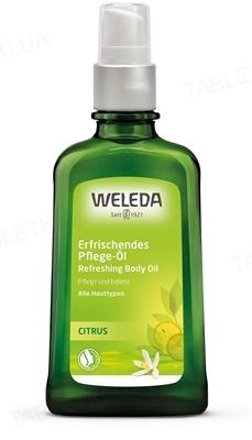 Масло для тела Weleda, Цитрусовое освежающее, 100 мл