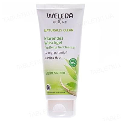 Гель для умывания Weleda Naturally Clear, глубокое очищение, себорегулирующий эффект, 100 мл
