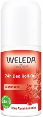 Дезодорант Weleda Roll-On 24 часа, Гранат, 50 мл
