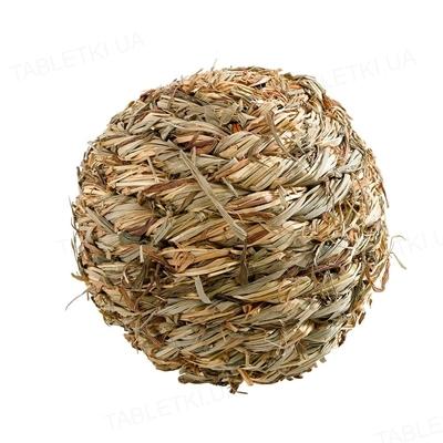 Шарик из соломы со звоночком Ferplast PA 4793 Ball Bell D.5,6  для грызунов