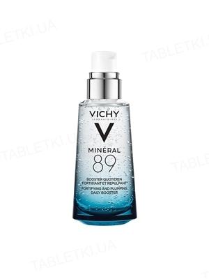Гель-бустер для обличчя Vichy Mineral 89 зволожуючий, підсилюючий пружність, 50 мл
