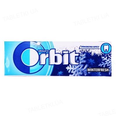 Жувальна гумка Orbit Winterfresh без цукру з ароматом ментолу, 14 г