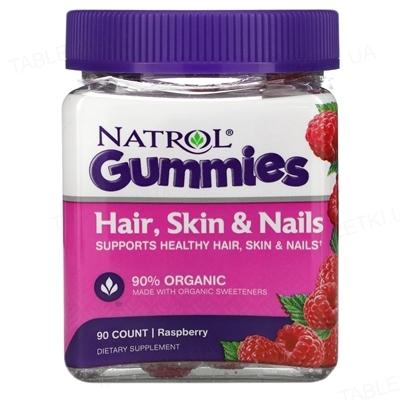 Витамины Natrol Hair Skin & Nails, 90 жевательных таблеток